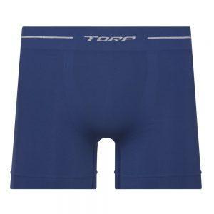 Cueca boxer sem costura Torp - Microfibra - Azul Jeans - 8001