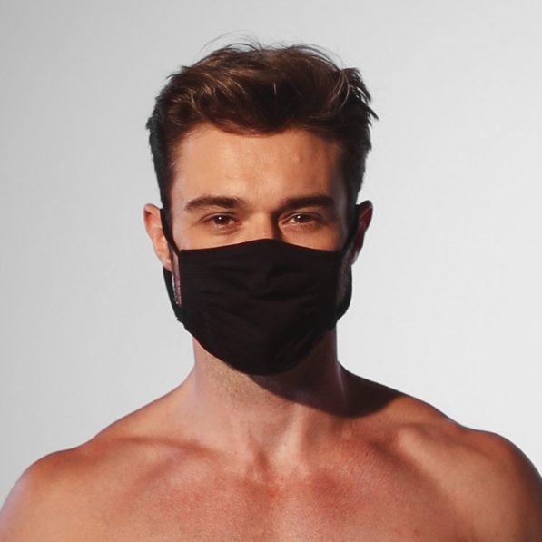 máscara antiviral torp lavável sem costura microfibra