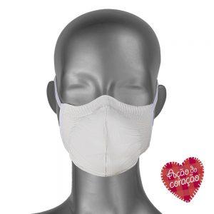 máscara antiviral microfibra - lavável sem costura Torp